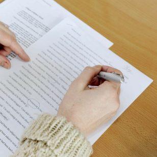 revise a grant proposal